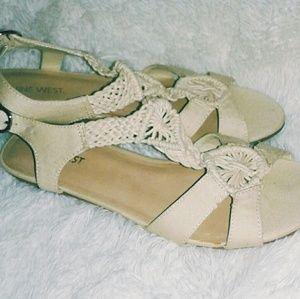 Nine West Crochet Sandals